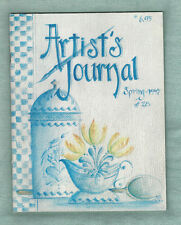 ARTIST'S JOURNAL - SPRING 1997 - Issue #28 - Back Issue - Jo Sonja