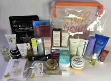 26 Pc. Skin Care Sample Lot - Tatcha, GlamGlow, Korres, Drunk Elephant & More!