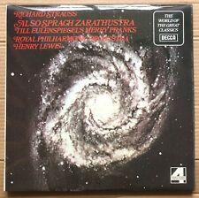Richard Strauss /R.P.O Also Sprach Zarathustra Vinyl  LP