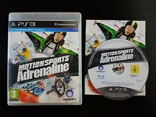 MotionSports Adrenaline-PlayStation 3-Very Good Cond. - Move-Motion Sports