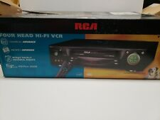 New listing Nib Rca Vr701Hf Video Cassette Recorder Player Hi-Fi Vcr New in opened box