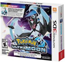 3DS POKEMON ULTRA Moon Exclusive Dawn Wings Necrozma Keychain Bonus In-game Code