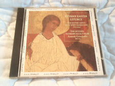 RUSSIAN EASTER LITURGY THE PATRIARCHATE CHOIR CD CANON OF ST. JOHN DAMASCENE