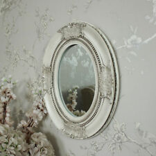 French Resin Oval Decorative Mirrors