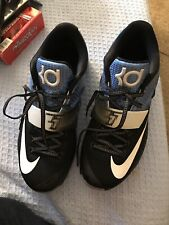 Kevin Durant Shoes Sz 10.5 Black And Blue Nike ID