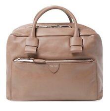 Marc Jacobs Antonia Satchel Duffle Bag Large Truffle w/ Nickel Hardware $1750.00