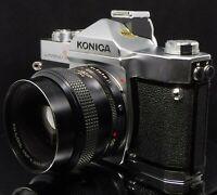 Konica Autoflex T3 Classic Vintage 35mm SLR Camera & Lens *FREE UK SHIPPING*