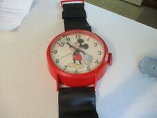 Vintage Mickey Mouse Walt Disney Giant Wall Clock Welby By Elgin