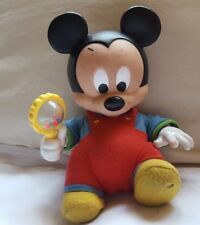 "9"" Disney Touch 'n Surprise Baby Mickey - works •  shakes rattle, moves hand (r)"