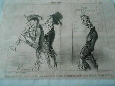 HD 2920 Daumier 1851 - Monsieur Léon Mow Messidor year VIII Trumpet
