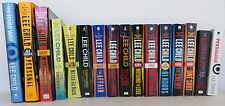 LEE CHILD Jack Reacher Novels set of 16 FIRST/LATER EDITION