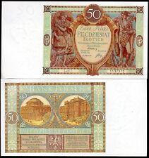 More details for poland, bank polski, 50 zloty, 1-9-29, series ez (wpm 71). gef/au.