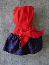Vintage Barbie - RARE Variation Best Bow - Red Bodice/Navy & Red Polka Dot NM!!!