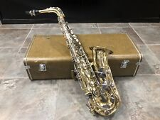 Vtg Yamaha Yas-21 Alto Saxophone as-Is With Hard Case May Need a Service