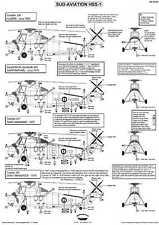 Berna Decals 1/48 SUD AVIATION HSS-1 French Navy Helicopter
