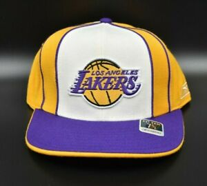 Los Angeles Lakers Reebok NBA Men's Fitted Cap Hat - Size: 7 5/8