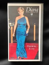 DIANA ~AN EXTRAORDINARY LIFE ~ FASHION ICON ~ PRINCESS OF WALES ~ RARE VHS VIDEO