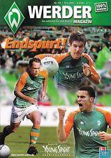 Werder Magazin + 18.04.2004 + Bremen vs. Hannover 96 + Programm +