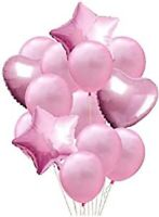 10pcs set Wedding Birthday Latex Foil Balloons Kids Baby Boy Girl Party LARGE