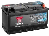 YBX9019 BATTERIA AUTO YUASA AGM START STOP 12V 95Ah 850A 353x175x190mm G14