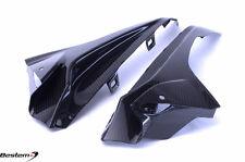 2015 - 2016 BMW S1000RR Carbon Fiber Upper Side Infill Panels, 100%, Twill