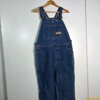 BIG MAC USA Work Denim Jeans Bib Overalls Mens Size 38 x 25  Blue