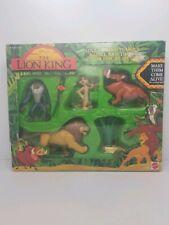 Vintage Mattel Walt Disney The Lion King Figurines Simba, Pumbaa, Timon, Rafiki