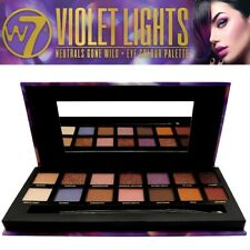 W7 Cosmetic Violet Lights Neutrals Gone Wild Eye Colore Palette EyeShadow Makeup