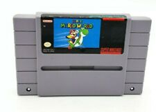 Super Mario World SNES Super Nintendo Game Tested Working & Authentic