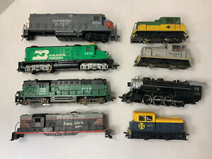C034- Mixed Lot Of HO Scale Locomotives For Parts