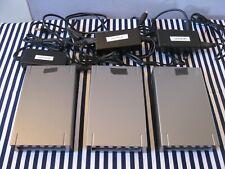 (3) 250GB LaCie External Hard Drive Design by FA Porsche W/POWER CORDS