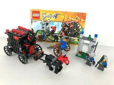 LEGO CASTLE CHATEAU 70401 Gold Getaway COMPLET + INSTRUCTION 2013