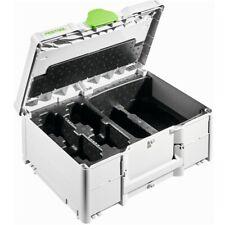 Festool Systainer SYS3 M 187 ENG 18V  577133 für 4 Akkupacks und 2 Ladegeräte