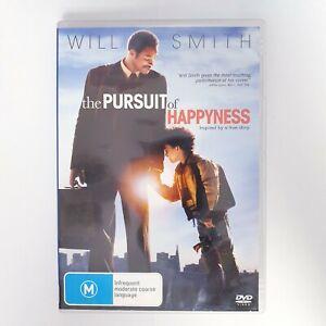 The Pursuit Of Happyness Movie DVD Free Postage Region 4 AUS - True Story