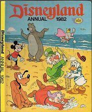DISNEYLAND ANNUAL 1982 - MICKEY MOUSE, CINDERELLA, PETER PAN, SLEEPING BEAUTY