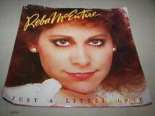 Reba McEntire Just A Little Love 45 EX *PROMO* MCA-52349 1984