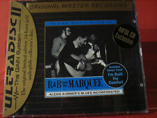 """MFSL-UDCD 657 ALEXIS KORNER """" R&B MARQUEE """"(GOLD-CD/MADE IN USA/FACTORY SEALED)"""