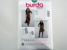 "BURDA SKIRT SEWING PATTERN MISSES' SEMI FITTED ""STYLE"" # 7293 SIZES 10 THRU 20"