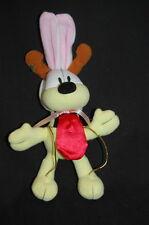"Garfield Odie Dog Rabbit Ears Whitman Candy 10"" Plush Stuffed animal Lovey Toy"