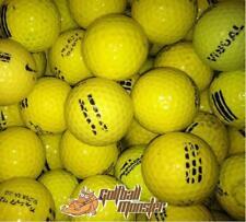 1200 Yellow D Used Range Ball Hit away Golf Practice Shag FREE FREIGHT !
