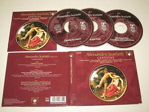 A.Scarlatti / Cantates (Brilliant Classics / 93355) 3xCD Album