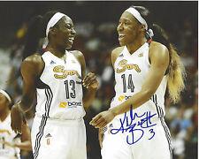 Kelsey Bone Signed 8 x 10 Photo Wnba Connecticut Sun Basketball Texas A&M