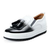 Salvatore Ferragamo Men's LUCCA Leather Loafers Shoes sz 8 9 10 11 12