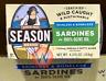 6Pk Season Brand Sardines Skinless & Boneless in Olive Oil 4.375 oz