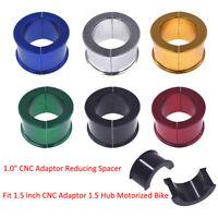 "1"" CNC Adaptor Reducing Gasket Fit 1.5"" Adaptor 1.5"" Hub Motorized Bicycle Bike"