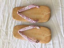 Japanese women's kimono sandals
