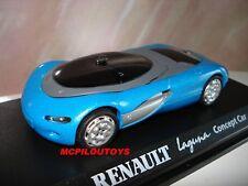 NOREV RENAULT CONCEPT CAR LAGUNA BLEU PARIS 1990 au 1/43°