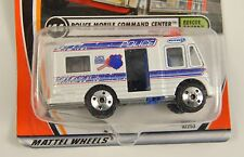 Matchbox Rescue Squad Police Mobile Command Center Die Cast 1/64 2001 44 New