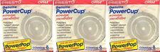 Microwave Powerpop 09964 Replacement Popcorn Concentrator Presto (3 Packs of 8)