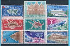 D0770 - NOUVELLE CALÉDONIE Timbres Poste Aérienne N° 126 à 134 Neufs**
